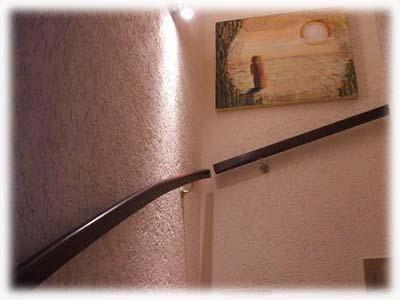 dekorativer putz auf innenw nden ist best ndig und ersetzt im innenbereich die tapete die. Black Bedroom Furniture Sets. Home Design Ideas